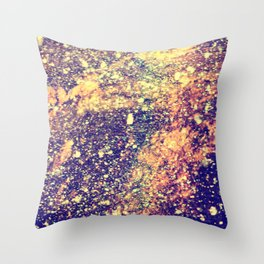 Cosmic Glitz Throw Pillow
