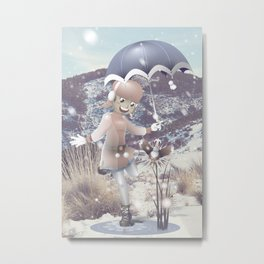Cool Winter Metal Print