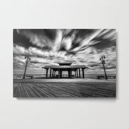 Coney Island Boardwalk Metal Print