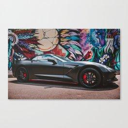 Vette Stingray 2018 Canvas Print