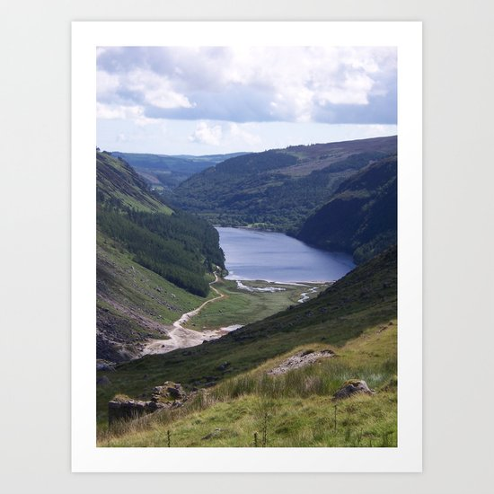 Glendalough - Co. Wicklow Ireland Art Print