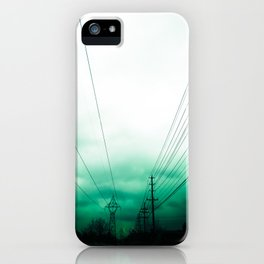 Power Clouds iPhone Case