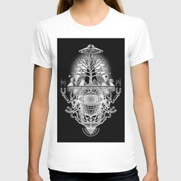 WAKE UP_BLACK T-shirt