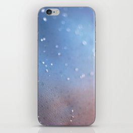Frozen Blue iPhone Skin