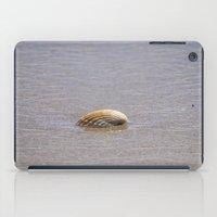 seashell iPad Cases featuring Seashell II by Maria Heyens