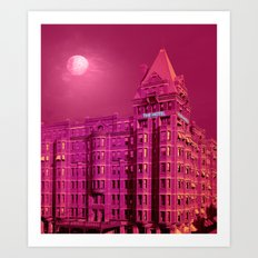 The Hotel Art Print