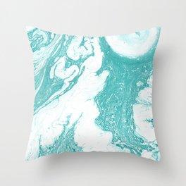 Turquoise #1 Throw Pillow