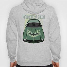 Firebird Transam 73 - Green & Black Hoody