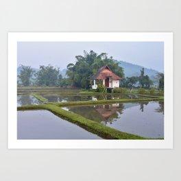 Ching Rai Villa Art Print