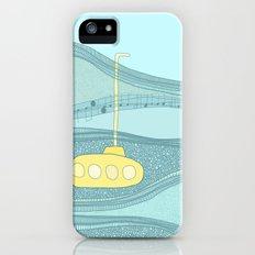 Yellow Submarine iPhone SE Slim Case