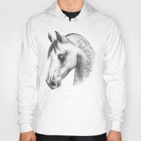 arab Hoodies featuring Arab horse head by Mindgoop