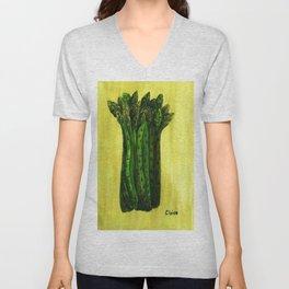 Asparagus Unisex V-Neck