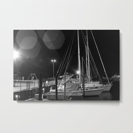 night sailing Metal Print