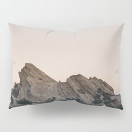 Sunset Over Desert Vasquez Rocks Pillow Sham