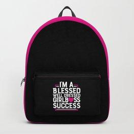 Girl Boss Success Backpack