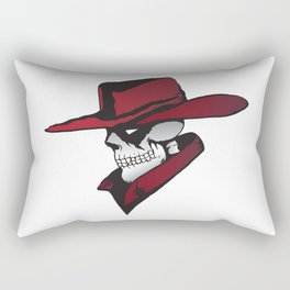 Cowboy Vampire Rectangular Pillow