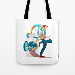 Knowing how to ask for help Tote Bag