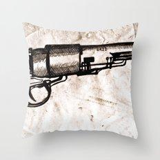 American Pistol II Throw Pillow