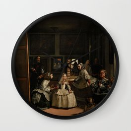 Las Meninas -  Diego Velázquez Wall Clock