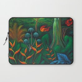 Aves del Paraiso - Birds of Paradise by Miguel Covarrubias Laptop Sleeve