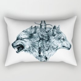 Dire Wolf Rectangular Pillow