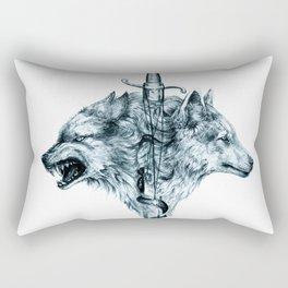 Dire Wolf Rectangular Pillow