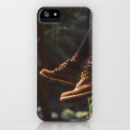 Footwork iPhone Case