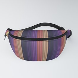 Colorful Stripe pattern Fanny Pack