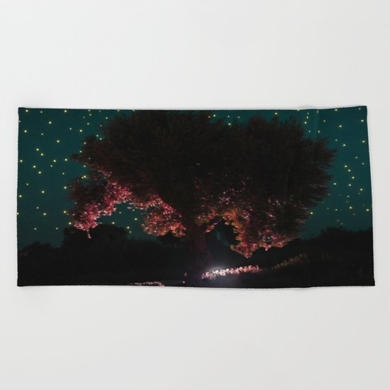 Olive Tree | Niarchos Foundation Cultural Center | Beach Towel