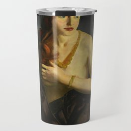 Nude with Red Hair 1920 by George Bellows Travel Mug