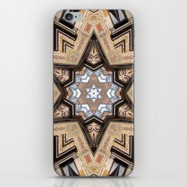 Architectural Star of David iPhone Skin