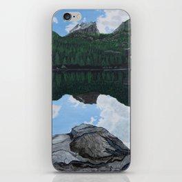 Reflections at Bear Lake iPhone Skin