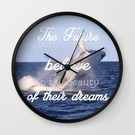 THE FUTURE Wall Clock