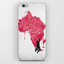 RE | Draw AFRIKA iPhone Skin