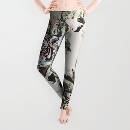 Tiger in the paradise 01-1 Leggings