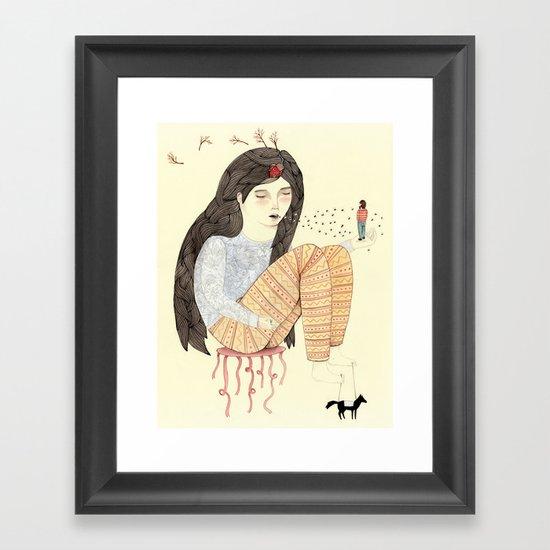 Manifest Framed Art Print