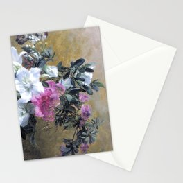 Painterly Hibiscus Stationery Cards