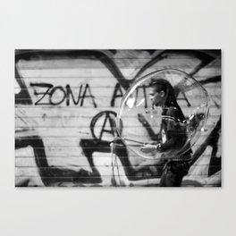 Zona Antifa  Canvas Print