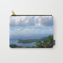 Over the Clouds in St Thomas Carry-All Pouch