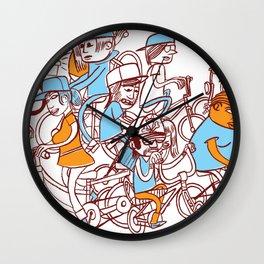 Chain Gang ©Josh Quick  Wall Clock
