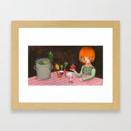 Cooking Framed Art Print