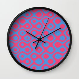 Brain Coral Red - Coral Reef Series 024 Wall Clock