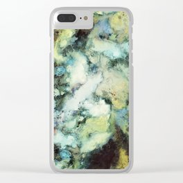 Escaping horses Clear iPhone Case