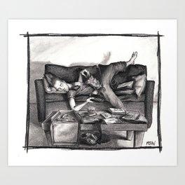 """Date Night"" Art Print"