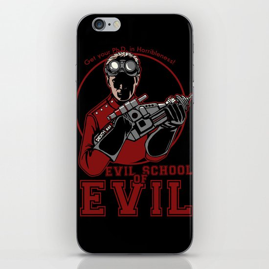 Dr. Horrible's Evil School of Evil iPhone Skin