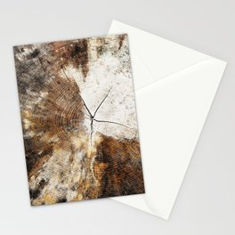 Tree Stump Ring Stationery Cards