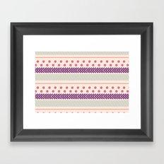 I Heart Patterns #011 Framed Art Print
