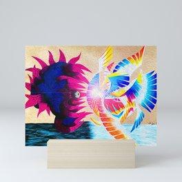 Galeem and Dharkon Mini Art Print