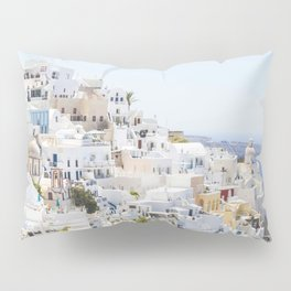 Fira, Santorini Greece Pillow Sham