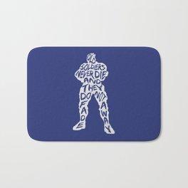 Soldier 76 Type illustration Bath Mat